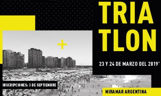 Semana Internacional del Triatlón en Miramar
