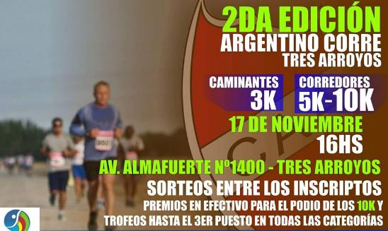 Argentino Corre Tres Arroyos