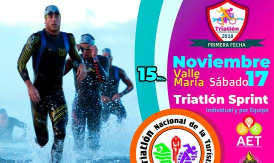 Triatlón Nacional de la Turística Valle María