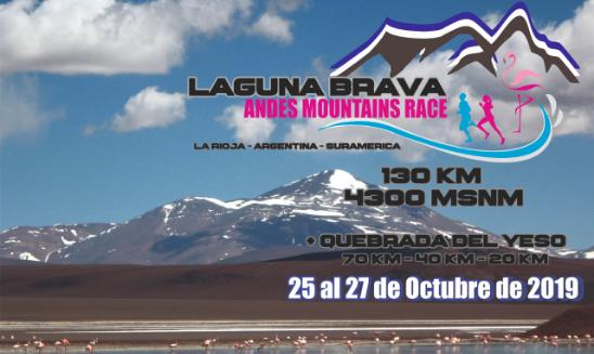 Laguna Brava Andes Mountains Race