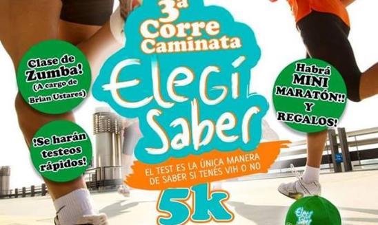 Corre Caminata Elegí Saber