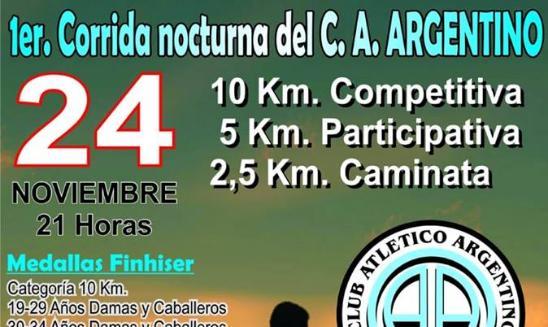 Corrida Nocturna Club Atlético Argentino