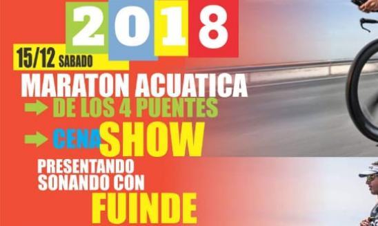 Maratón Acuática de los 4 Puentes - Fiesta del Rio