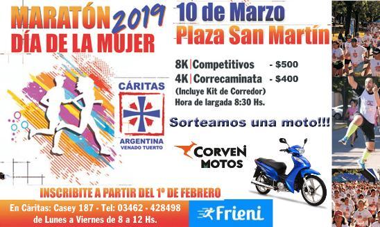 Maratón Dia de La Mujer