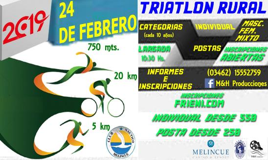 Triatlón Rural Melincué