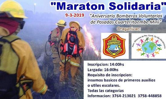 Maratón Solidaria Bomberos Itaembe Mini