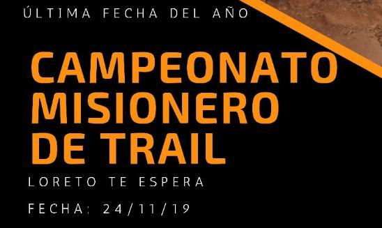 Campeonato Misionero de Trail - Loreto