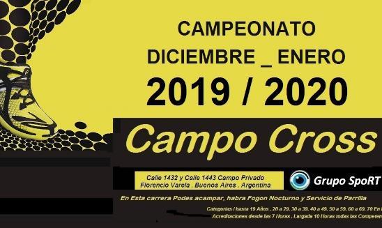 Campo Cross Campeonato 2019 / 2020
