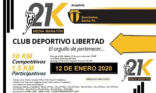 Media Maratón Sunchales
