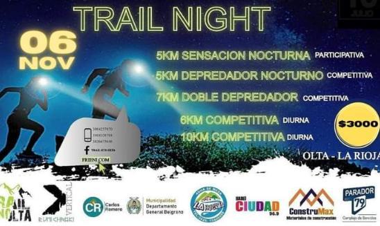 Km Vertical Nocturno Piedra Parada