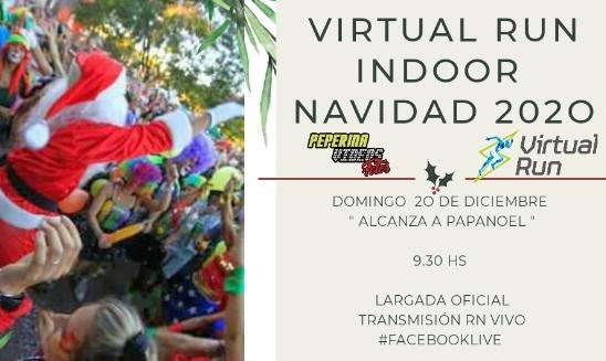 Virtual Run Indoor Navidad