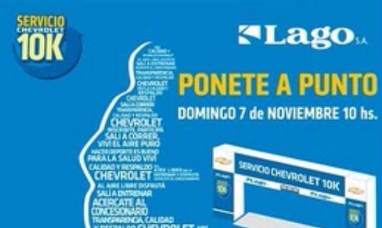 Circuito Chevrolet 10k Bahia Blanca